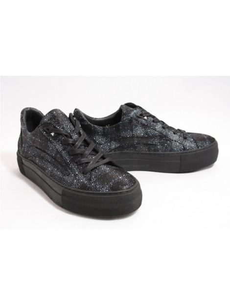 Floris van Bommel 85252/03 sneakers zwart 8525203 large