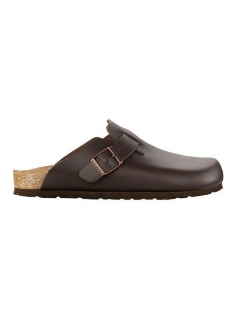 Birkenstock Boston dark brown leather smal 060103 large