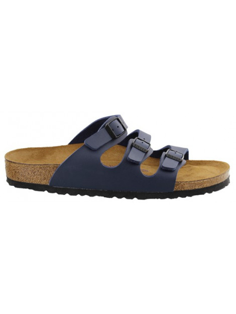 Birkenstock Florida blue soft footbed narrow 554713 large