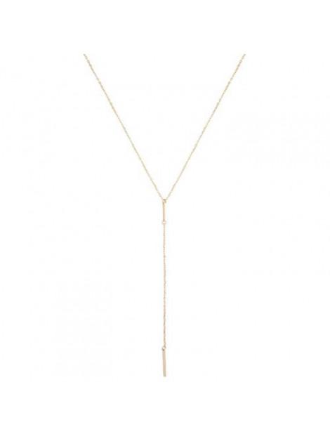 CLUB MANHATTAN Necklace long layered goud CM/DL/go long layered necklace large