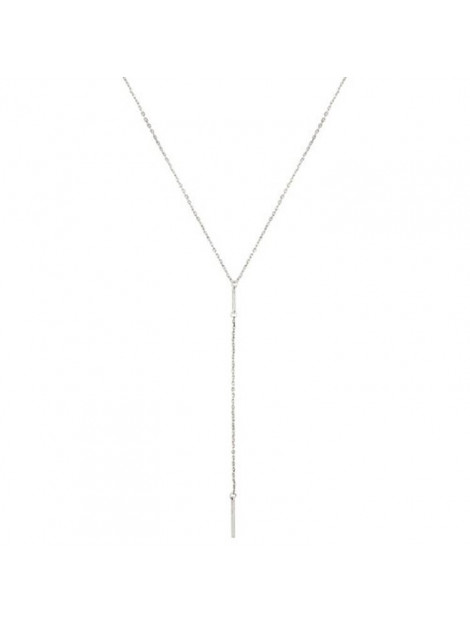 CLUB MANHATTAN Necklace long layered silver zilver CM/DL/long layered silver large