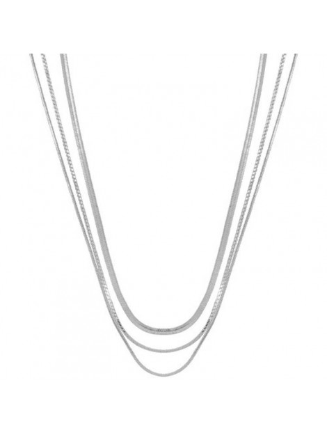 CLUB MANHATTAN Necklace rebel silver zilver CM/CL/si rebel necklace large