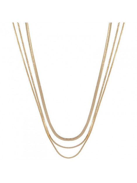 CLUB MANHATTAN Necklace rebel gold goud CM/CL/go rebel necklace large