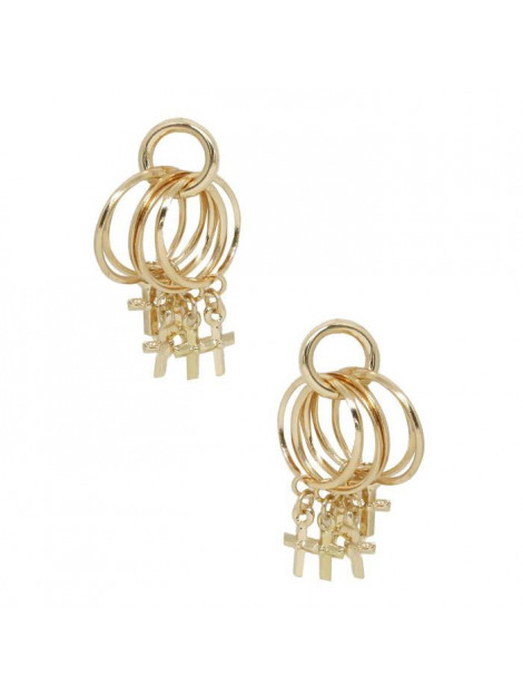 ETTIKA Best of best cross goud ET/S18-6/earrings best of best cross large