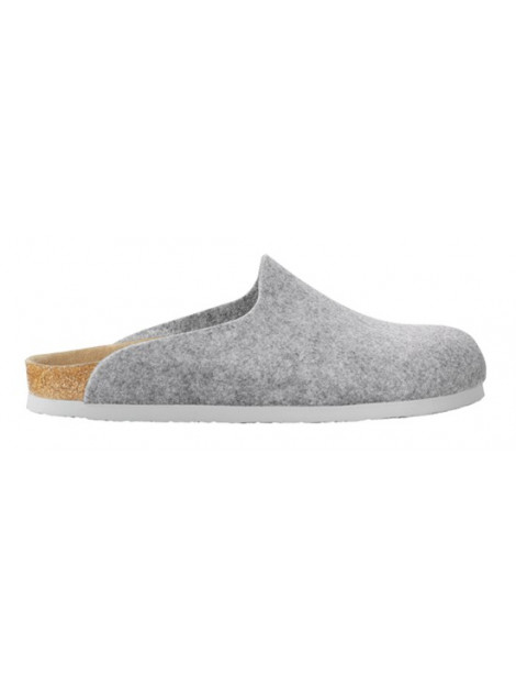 Birkenstock Amsterdam light grey felt regular 559111 large