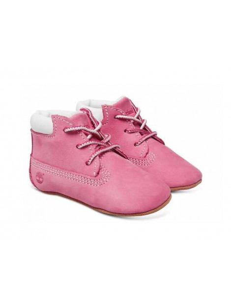 Timberland Babyschoen + muts roze 9680R large