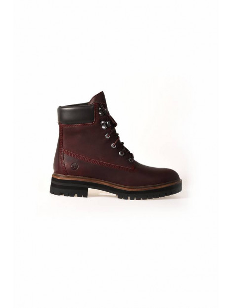 Timberland London square 6 inch boot dark port rood TB0A1RCS large