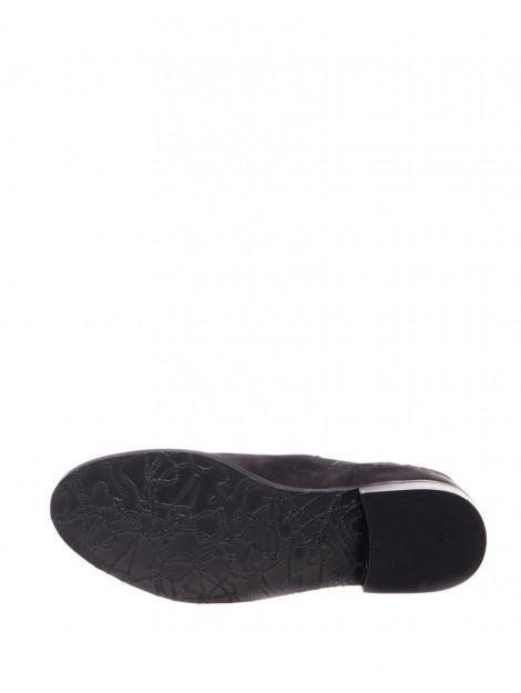 SPM Enkellaars mollis elastic croco black 17645971-000-01002/03168 large
