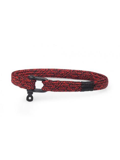Pig & Hen P19-90404 armband vicius vik black red P19-90404 large