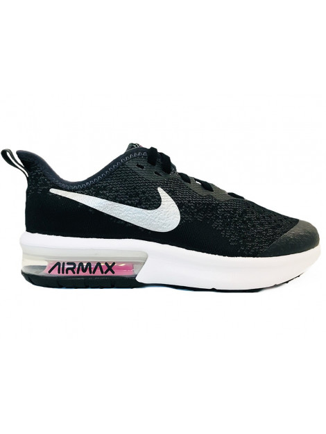 Nike Air max sequent 4 gs zwart AQ2245-001 large