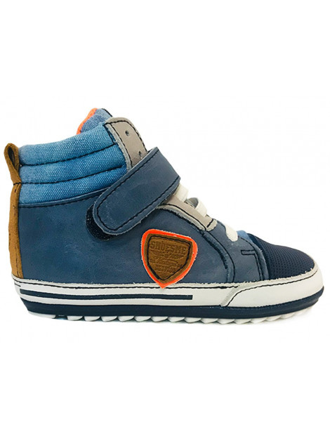 Shoesme Veterschoenen baby proof blauw BP9S015-A large
