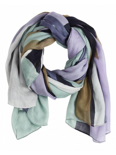 Sandwich 28001407 40151 scarf woven maritime blue blauw 28001407 40151 large
