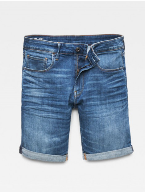 G-Star 3301 slim 1/2 shorts d10481-8968-6028 blauw  large