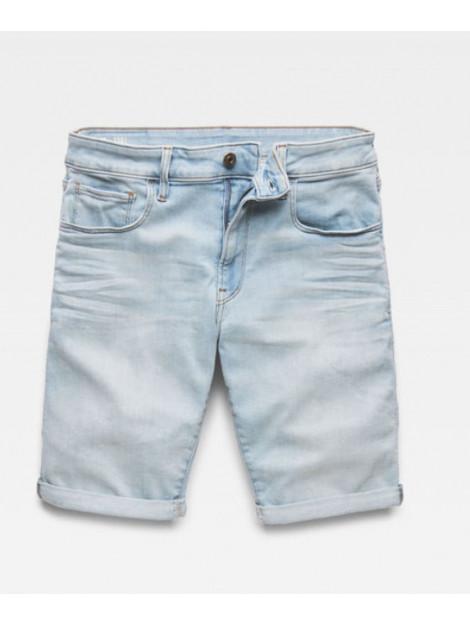 G-Star 3301 slim 1/2 length shorts licht d10481-8968-4974 blauw  large