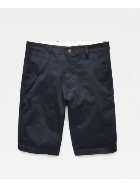 G-Star Bronson straight 1/2 length shorts donker d06656-5126-4213 blauw  large