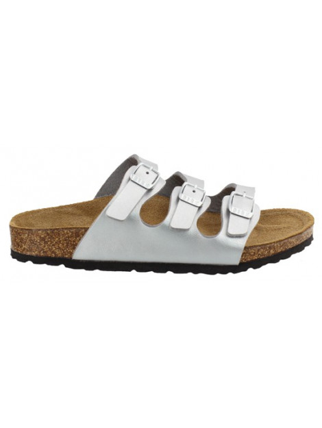Birkenstock Florida silver narrow 954383 large