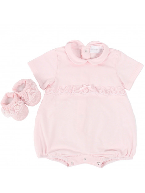 Story Loris Cadeauset romper en slofjes roze 21959.2R-ROZE large