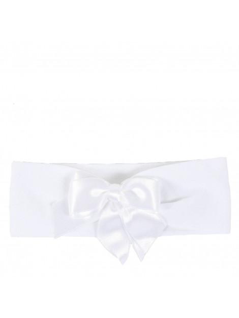 La Perla Kids Haarbandje met strik wit 40983.XO-WIT large