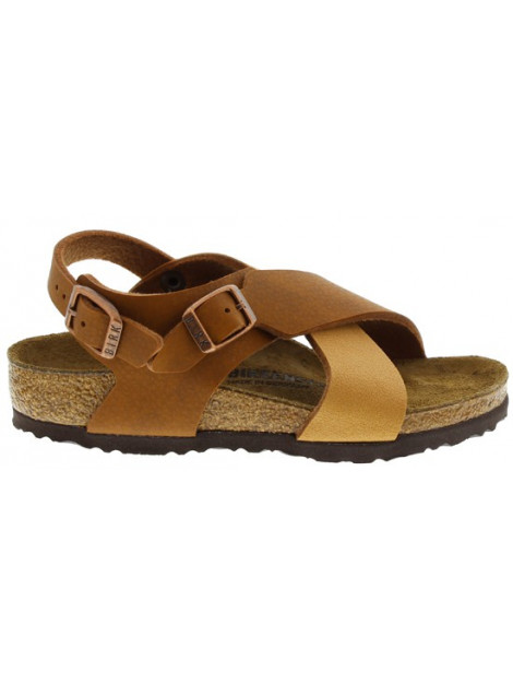 Birkenstock Guam strap spice light brown narrow bruin 1008498 large