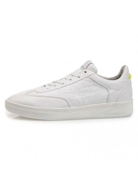 Floris van Bommel vetersneakers wit 16255 large