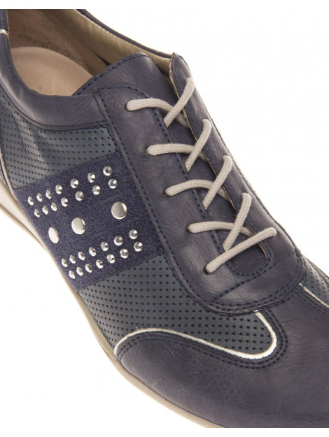 Remonte Sneaker combi studs blue R9802-14 large