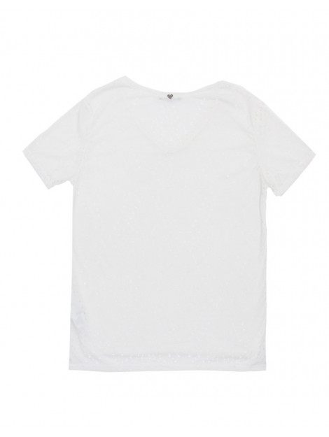 Please T-shirt m87 see through cool off white M879GG5-3102 large