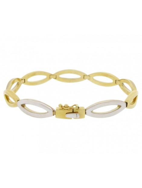 Christian 14 karaat bicolor armband 9089 large