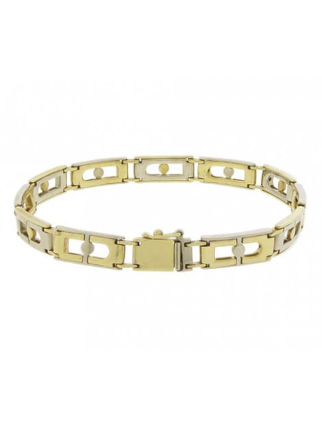 Christian Gouden bicolor armband 098D437-0882JC large