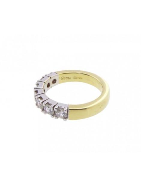 Atelier Christian Gouden ring met briljanten wit goud 298R73-2012AC large