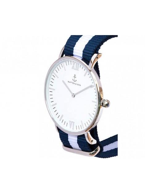 Kapten & Son Horloge silver sail campina 4251145212025 4251145212025 large