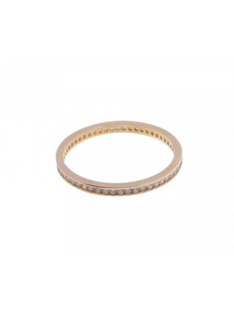 Christian 14 karaat rosé gouden ring met zirkonia 232R813-9813JC large