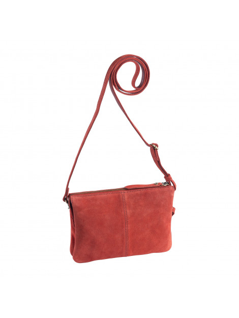 dR Amsterdam Schoudertas / clutch Rood One size 8712099058139 large