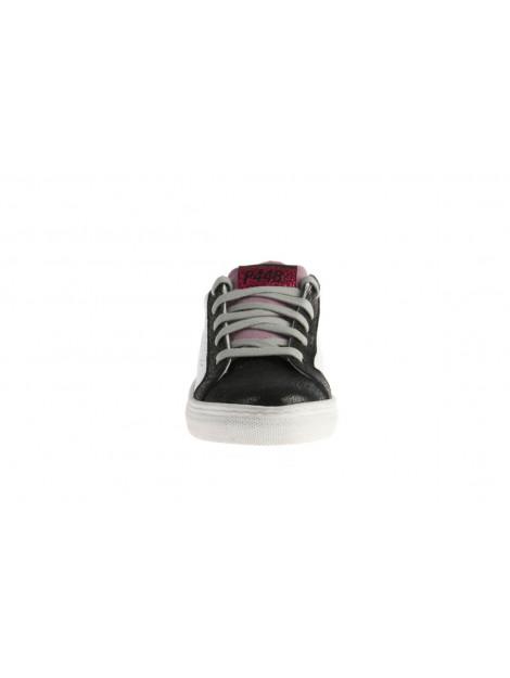P448 John-kd /zwart/roze wit P448-A8 John-KD Wit Zwart Roze-Wit large