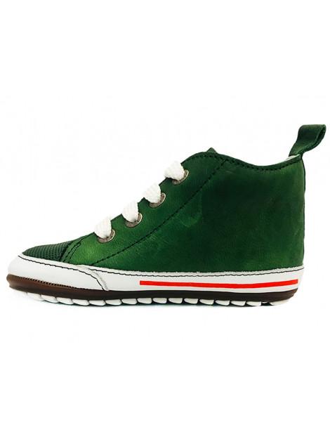 Shoesme Veterschoenen baby proof groen BP9S004-I large