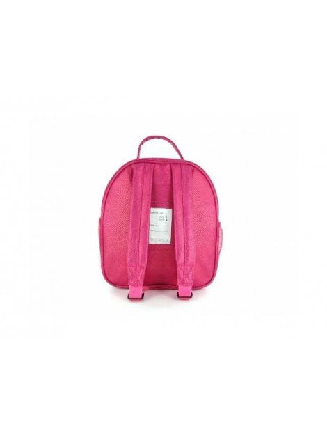 Shoesme Rugtas love pink fuchsia paars BAG7A025-B large