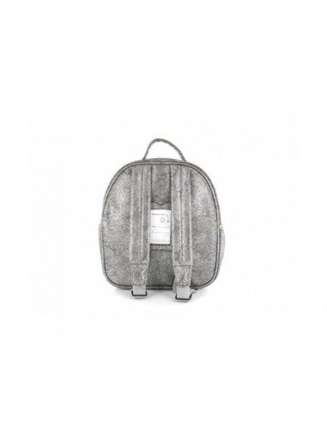 Shoesme Rugtas love zilver BAG7A025-C large