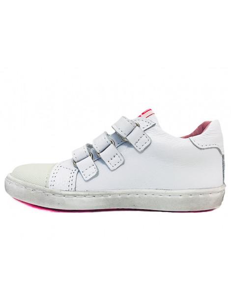 Shoesme Veterschoenen sterren wit UR9S042-A large