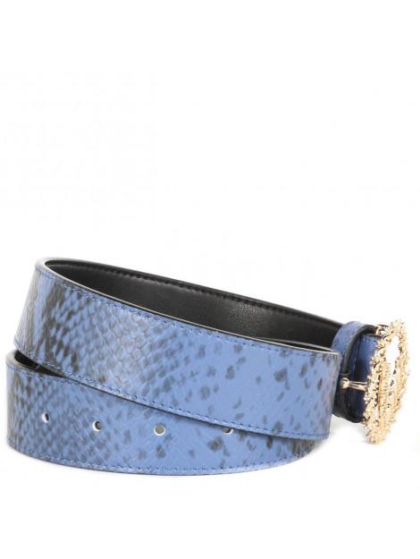 JOSH V Rly belt blauw JV-1903-1820A.124- BLUE/SNAKE large