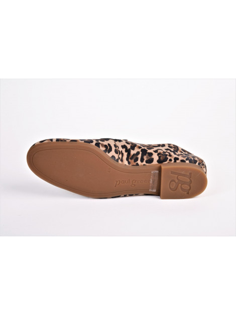 Paul Green artikelnummer 2462 loafer leopard print 2462 large