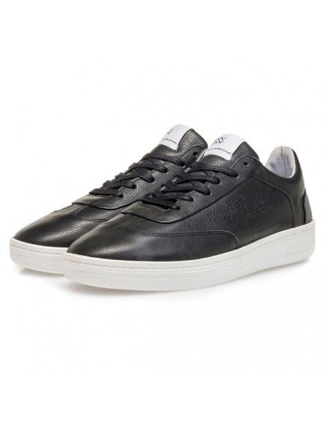Floris van Bommel vetersneakers zwart 16255 large