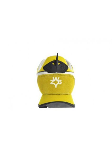 W6YZ Jet-m velour nylon geel Jet-M Velour Nylon large