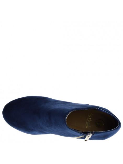 La Strada Enkellaarzen blauw  large