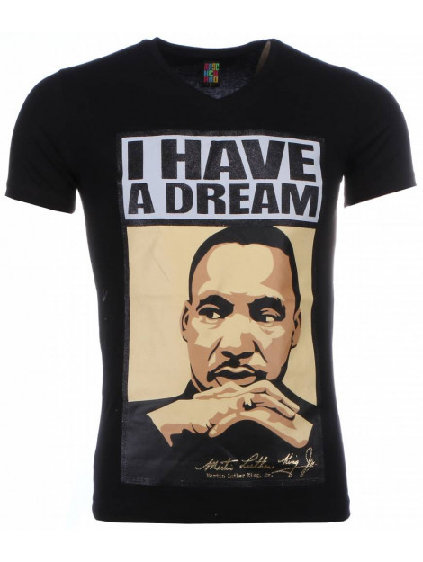 Local Fanatic T-shirt martin luther king i have a dream print 2302Z large