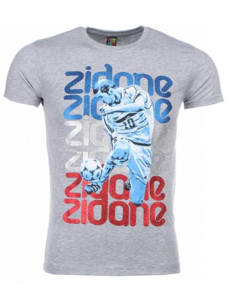 Local Fanatic T-shirt zidane print 1166G large