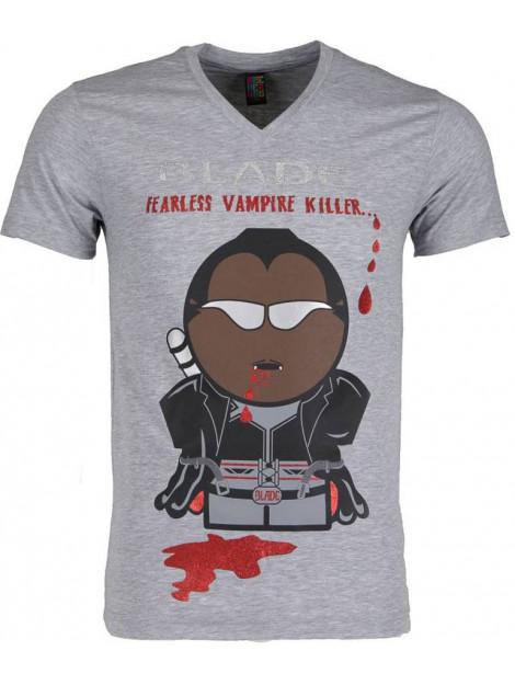 Local Fanatic T-shirt blade fearless vampire killer 54011G large