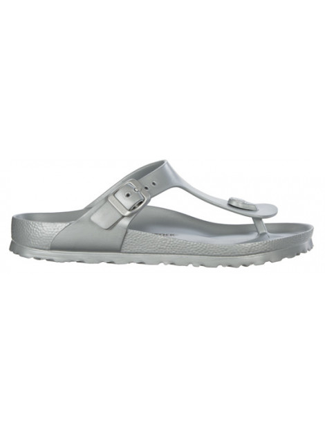 Birkenstock Gizeh eva metallic silver regular 1003496 large