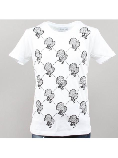 ec5a87fde0f Reinders Reinders t-shirt logo wit G481E.101/901-WHITE/TRUE