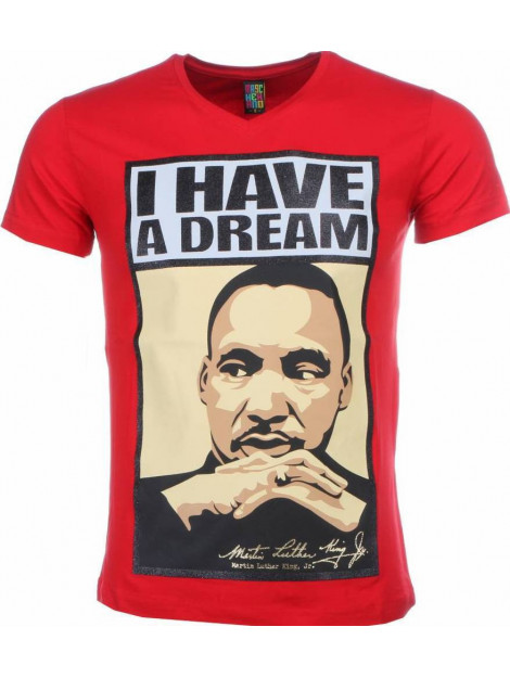 Local Fanatic T-shirt martin luther king i have a dream print 2302R large