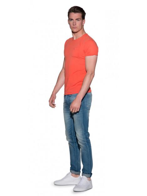Scotch & Soda T-shirt met korte mouwen oranje 136456 large
