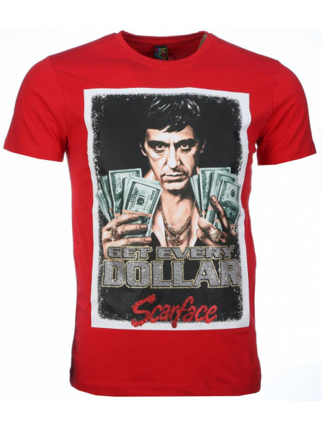 Local Fanatic T-shirt scarface get every dollar print 2004R large